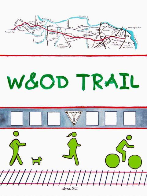 """w&od trail"", ""w&od trail art"", ""w&od trail painting"", ""northern virginia art"", ""purcellville art"", ""fairfax art"", ""loudoun art"", ""arlington va art"", ""artist dave white"""