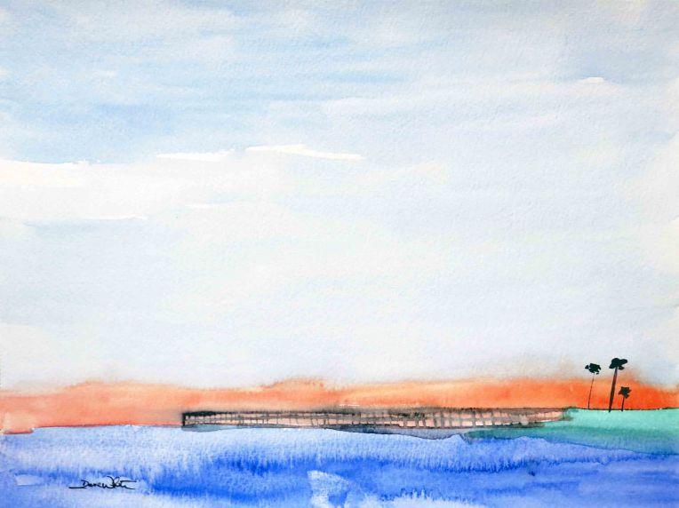 """original seascape"", ""original seascape watercolor"", ""seascape watercolor"", ""ocean painting"", ""beach painting"", ""sea painting"", ""ocean watercolor"""