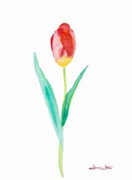 """tulip painting"", ""tulip watercolor"""