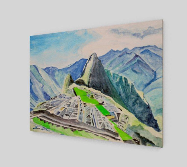 """peru wall art"", ""wood wall art"", ""south american art"", ""latin american art"", ""macchu picchu wall art"", ""macchu picchu print"", ""macchu picchu art print"""