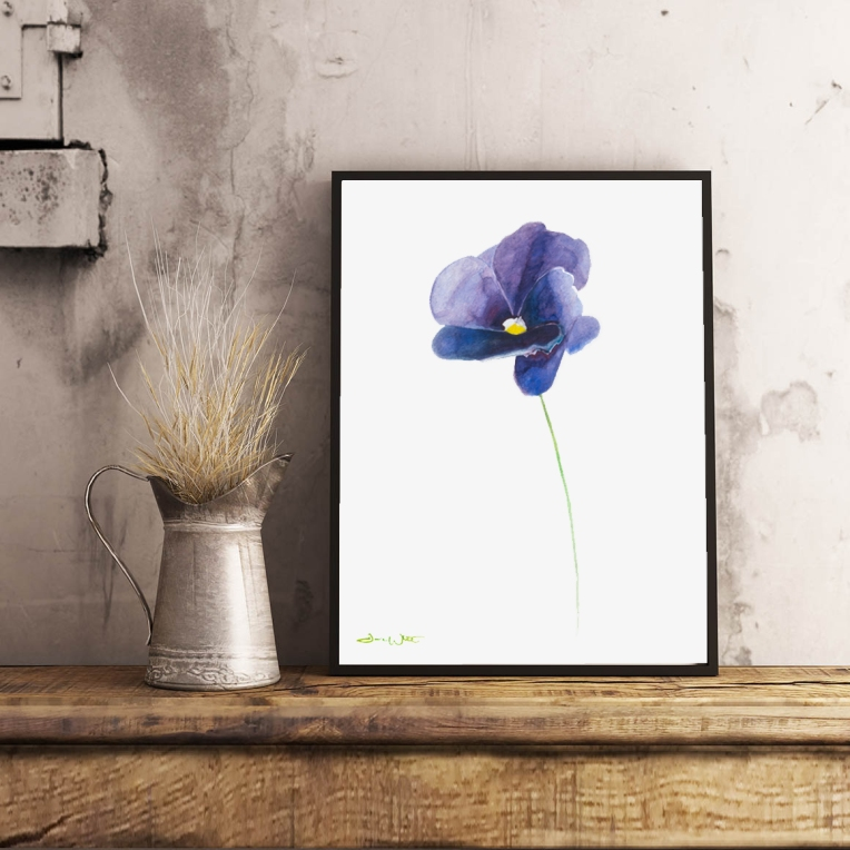 """purple flower painting"", ""purple flower art"", ""flower artist"", ""flower painting"", ""watercolor flower"", ""purple flower watercolor"""