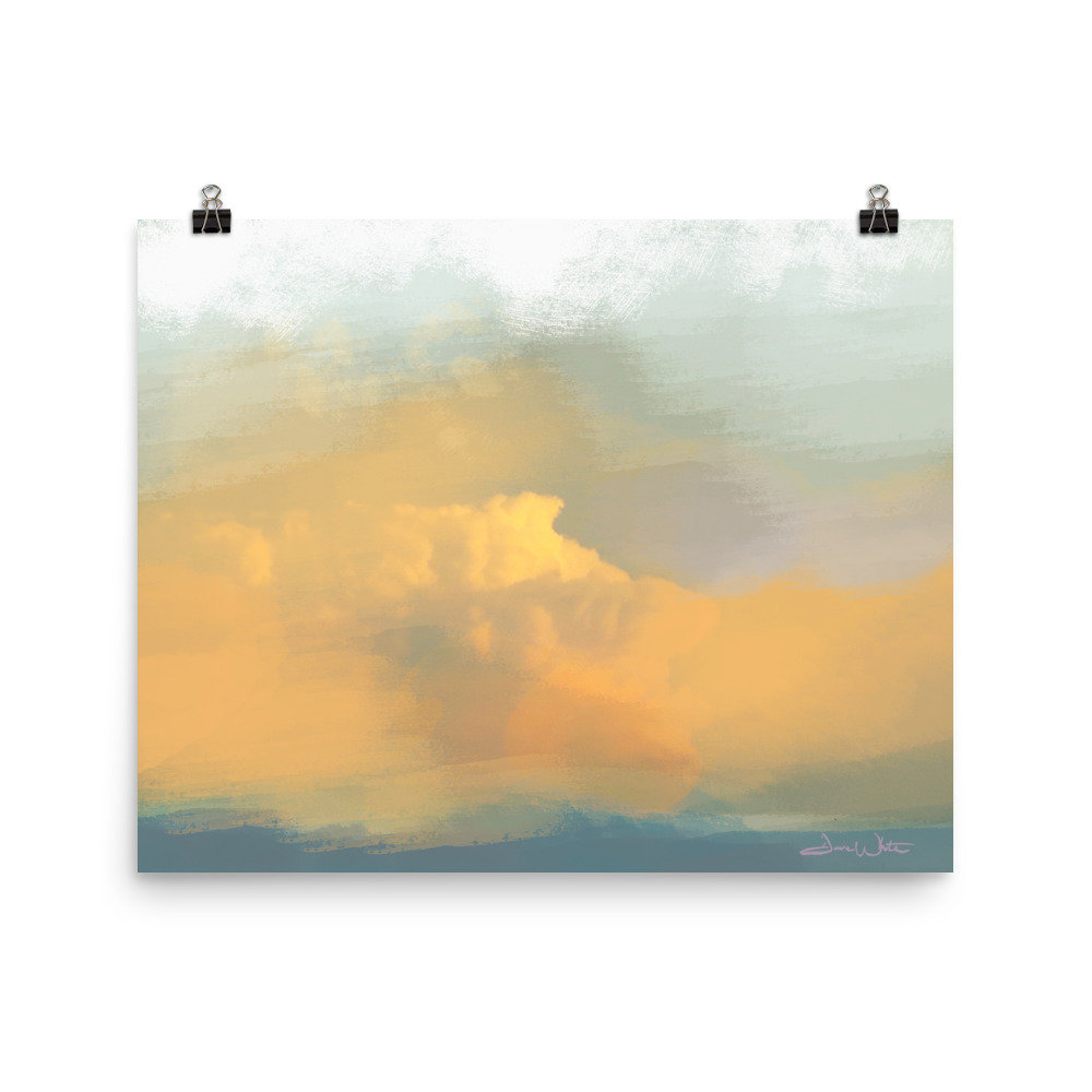 """abstract sky print"", ""orange sky"", ""abstract wall art"", ""abstract sky art"", ""sky art"", ""skyscape art"", ""sky print"", ""orange abstract art"""