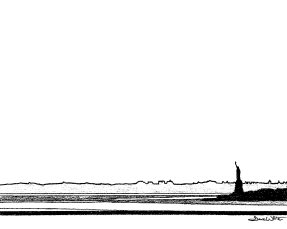 """""""statue of liberty art"""", """"statue of liberty drawing"""", """"new york city black and white wall art"""", """"new york city black and white art"""""""