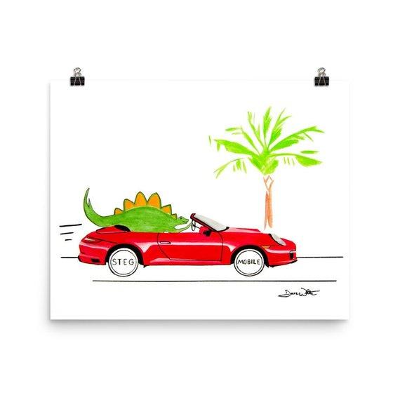 stegosaurus kids art, dinosaur kids art