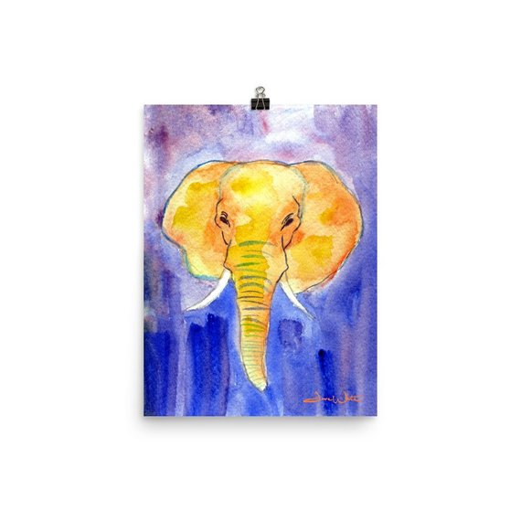 elephant kids art