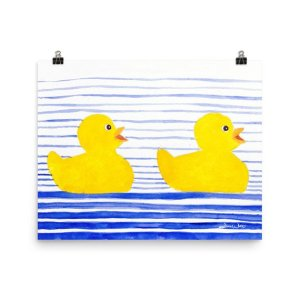 rubber duckies art, rubber ducks art, rubber ducky art, rubber duckies kids art