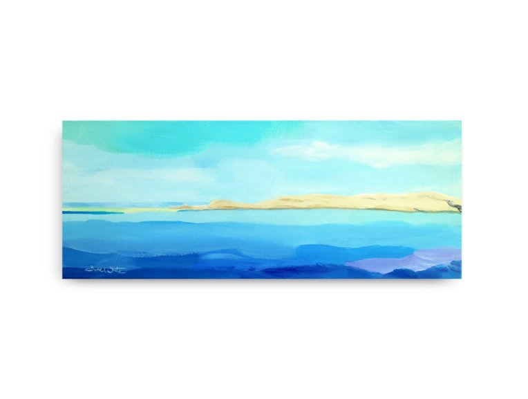 formentera painting, formentera art, original formentera painting on canvas, pintura formentera, arte formentera, original seascape painting on canvas