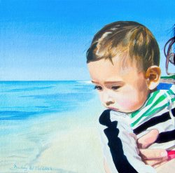 Portrait Painting by Artist Dave White