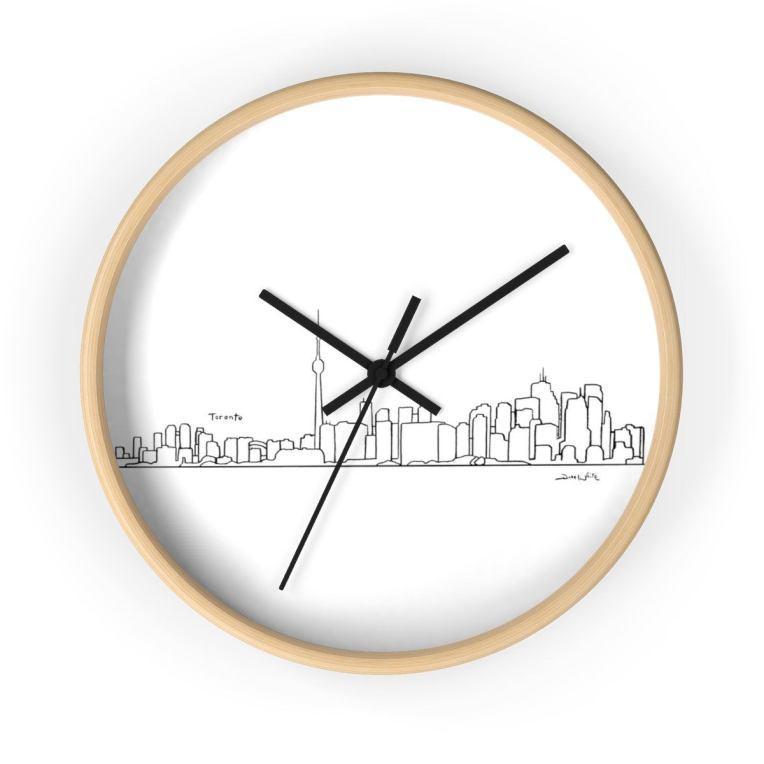 Toronto Skyline Wall Clock