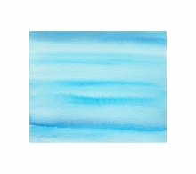 Seascape Watercolor Painting