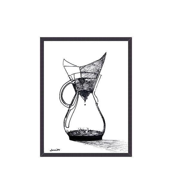 Chemex Coffee Art