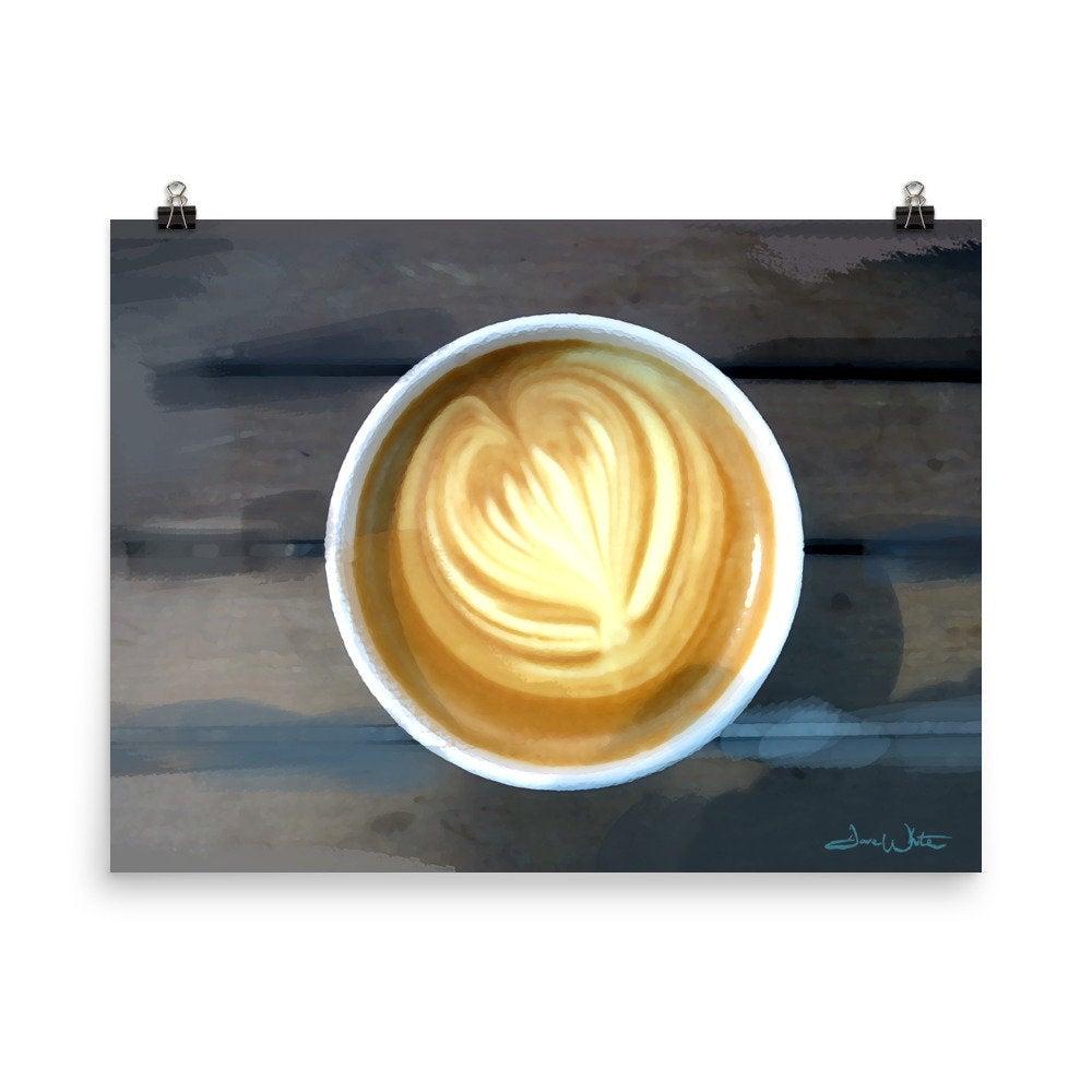 cappuccino art, coffee art