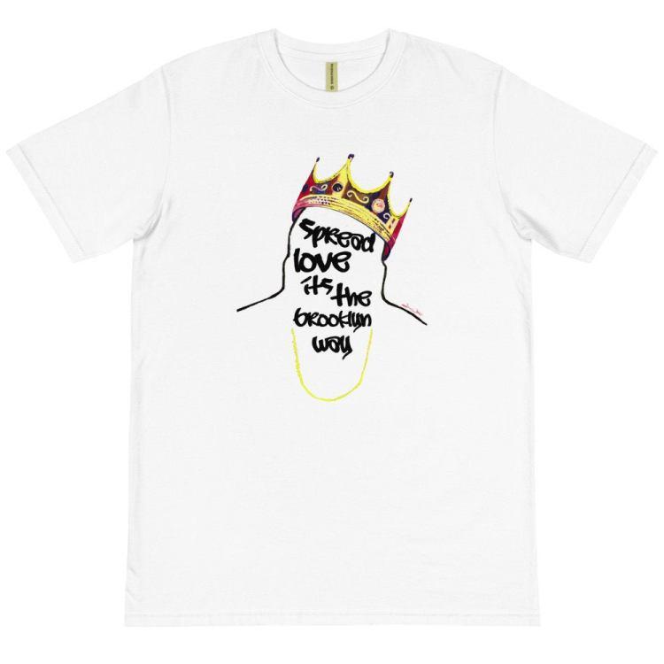 Biggie T Shirt Brooklyn Organic Cotton