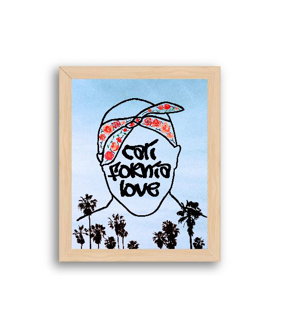 Tupac California Love Art Print